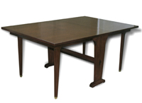 Folding Table, Mahogany (spread version)