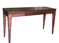 Console Table, Mahogany